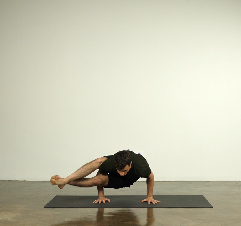 Eight Angle Pose taught by Alex Roberts