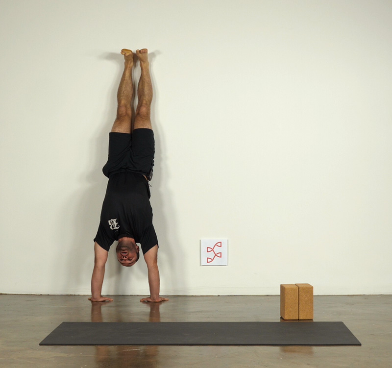 Handstand at the Wall