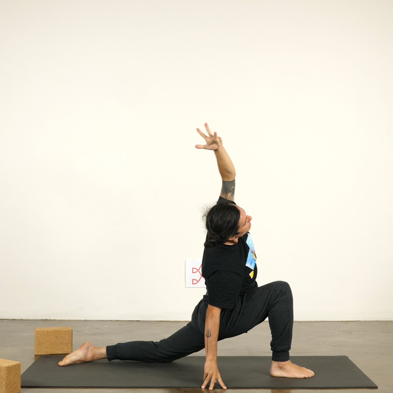 Flowing to Open Hips and Shoulders
