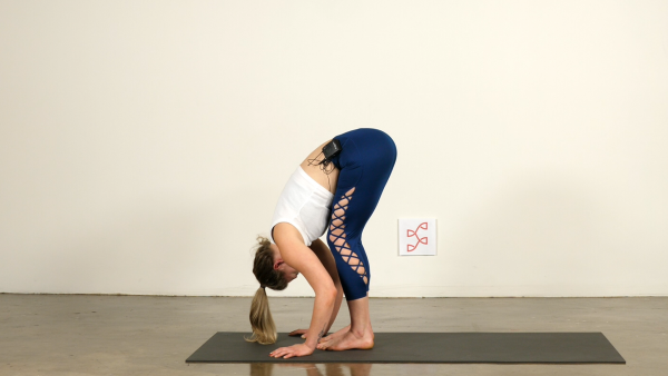 Yoga for Athletes Standing Forward Fold
