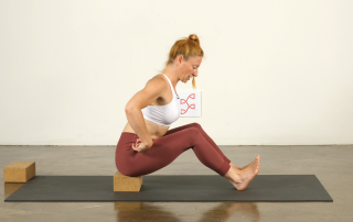 Yoga for Athletes Seated Forward Fold