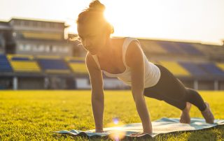 Plank Pose Yoga for Athletes