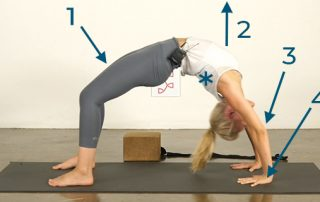 Yoga Poses for Athletes Wheel Pose - Step 2