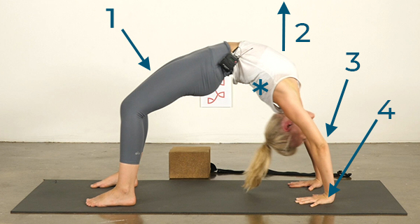 Hard Yoga Poses Made Easy Wheel Pose Icewater Yoga