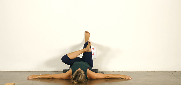 Yoga for Athletes - Figure Four Pose