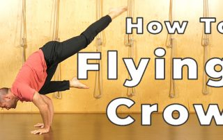 Yoga Poses Made Easy Flying Crow