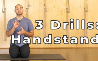 Three Handstand Drills