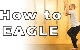 Eagle Garudasana Hard Poses Made Easy